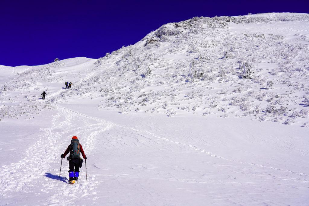 厳冬期・武尊山・剣ヶ峰山・武尊の壁
