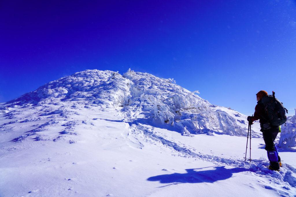 厳冬期・武尊山・剣ヶ峰山・武尊山ビクトリーロード