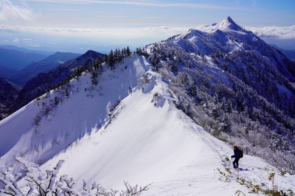 厳冬期・武尊山・剣ヶ峰山・2020mへ