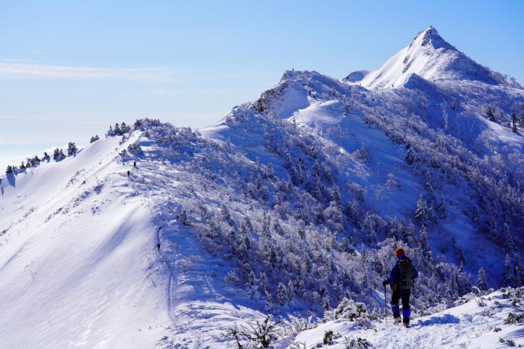 厳冬期・武尊山・剣ヶ峰山・2020mへ・その2