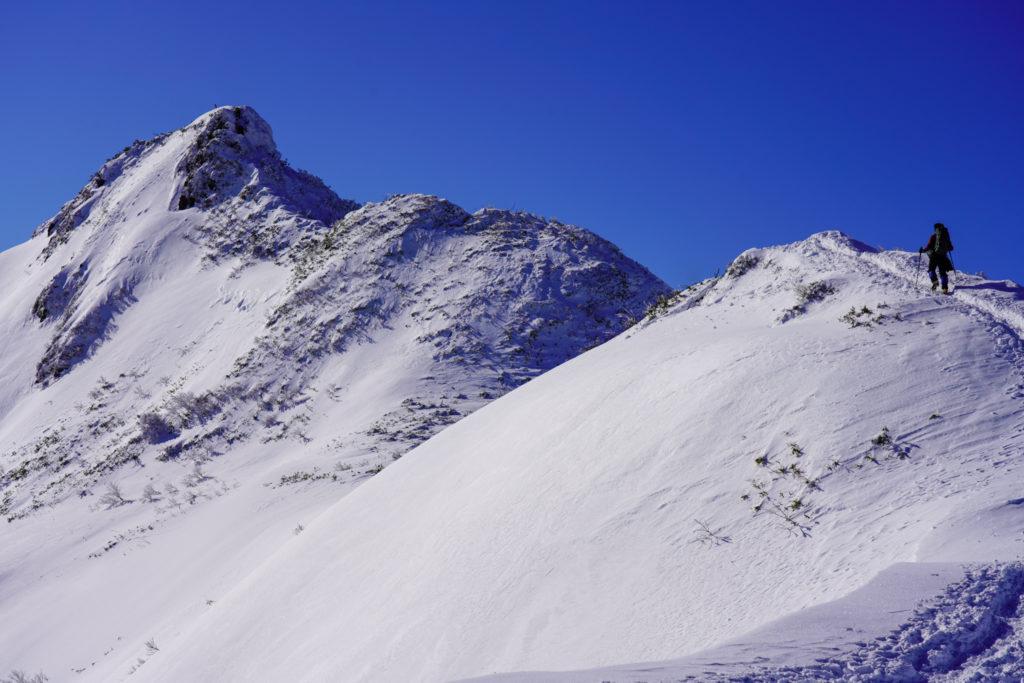 厳冬期・武尊山・剣ヶ峰山・再び2020mの頂へ