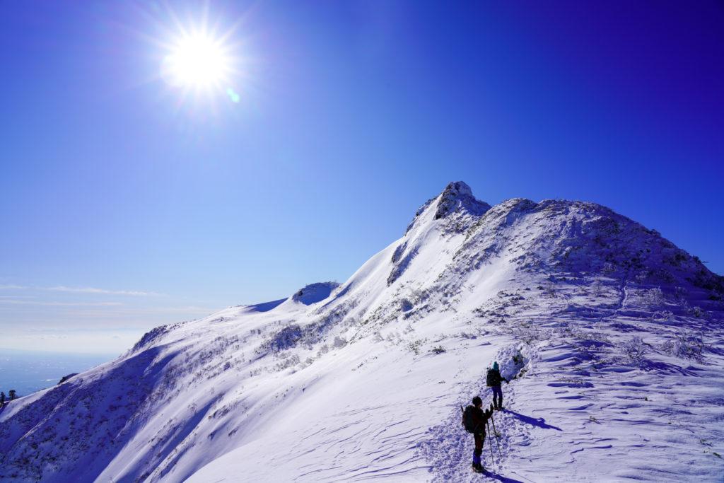 厳冬期・武尊山・剣ヶ峰山・再び2020mの頂へ、その2