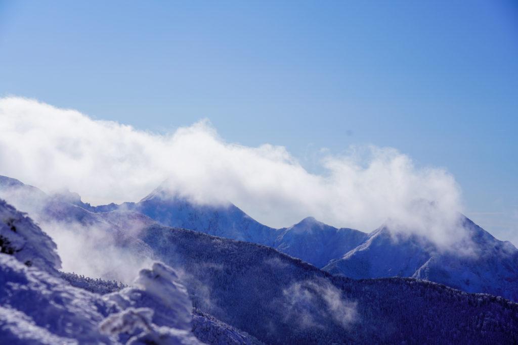 厳冬期・天狗岳・北八ヶ岳