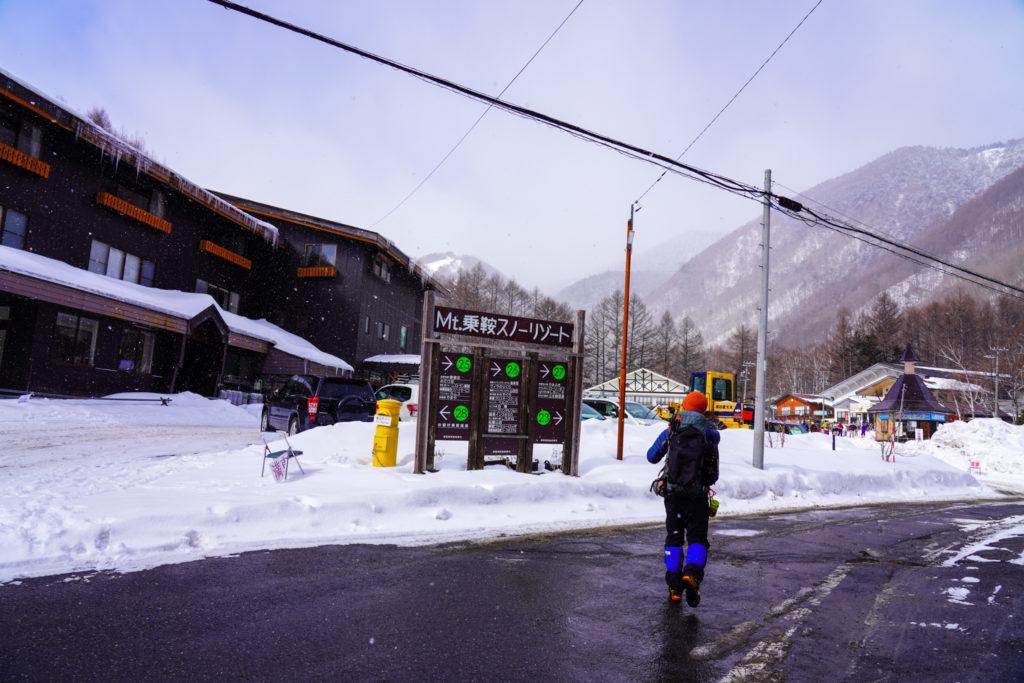 厳冬期・乗鞍岳・Mt.乗鞍スノーリゾート