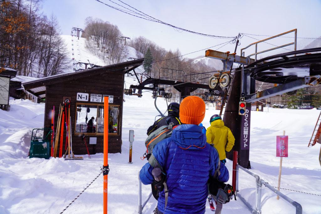 厳冬期・乗鞍岳・Mt.乗鞍スノーリゾートリフト乗り場