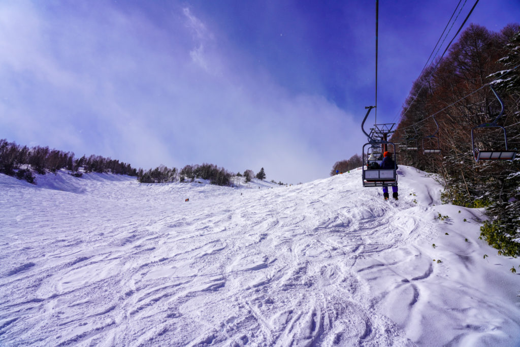 厳冬期・乗鞍岳・リフトはラクチン