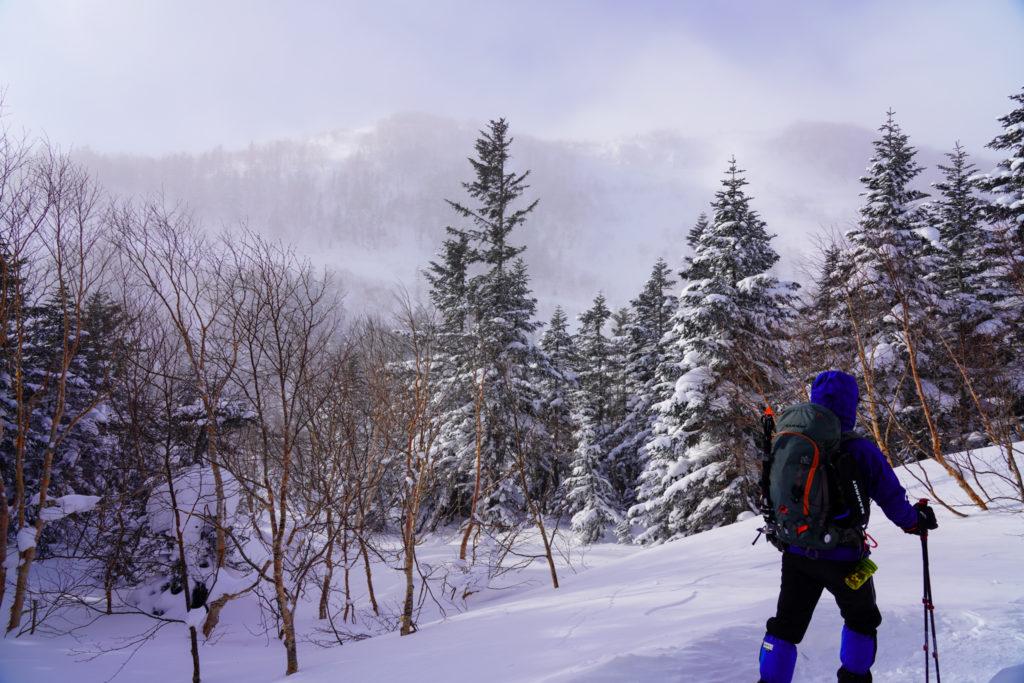 厳冬期・乗鞍岳・2日目スタート