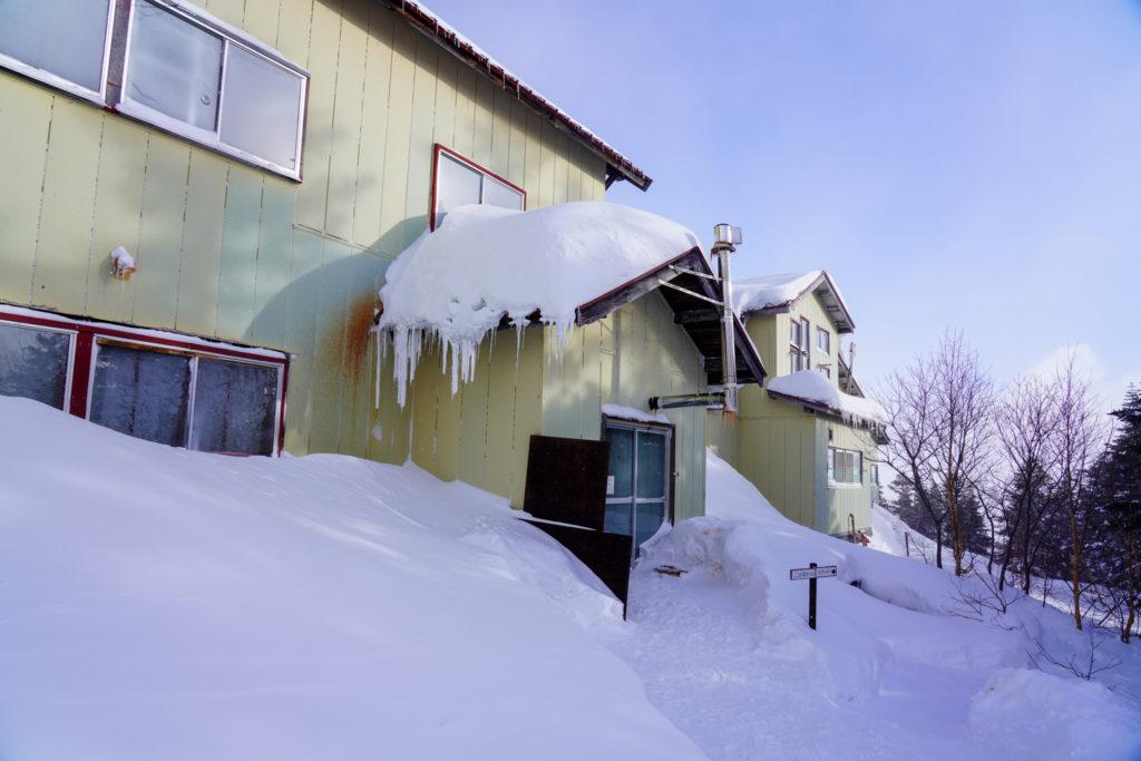厳冬期・乗鞍岳・お世話になりました位ヶ原山荘