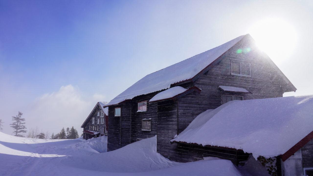 厳冬期・乗鞍岳・位ヶ原山荘