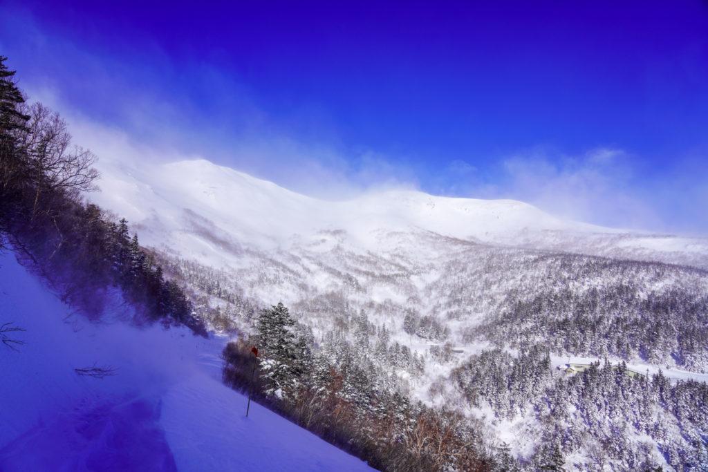 厳冬期・乗鞍岳・乗鞍岳は見えたけど