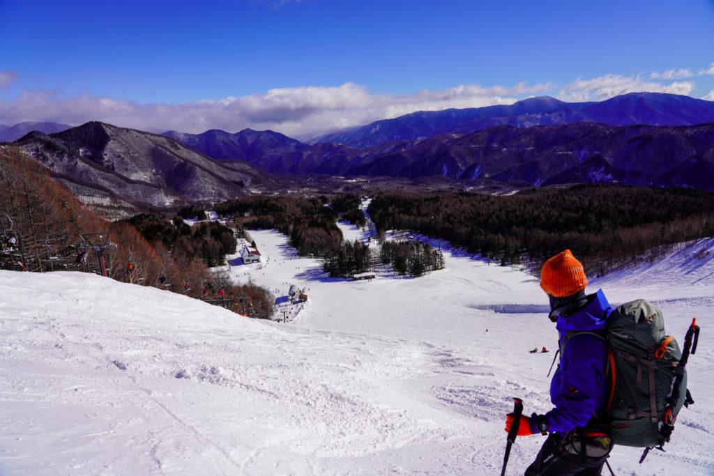 厳冬期・乗鞍岳・下山時リフトは使えません