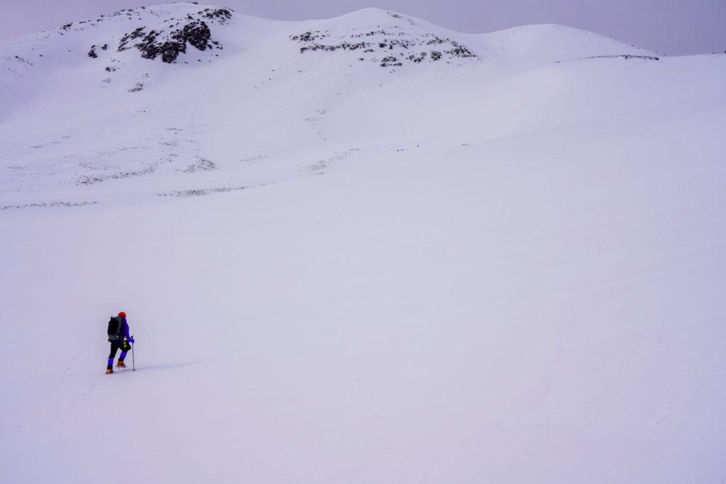 厳冬期・乗鞍岳・乗鞍大雪渓2