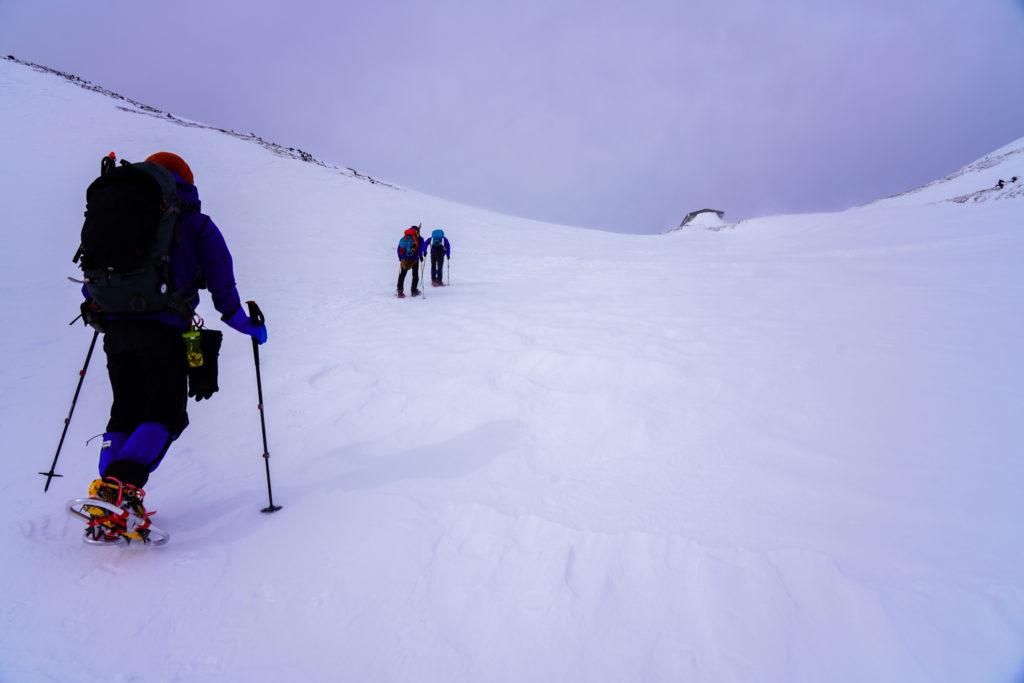 厳冬期・乗鞍岳・乗鞍大雪渓3