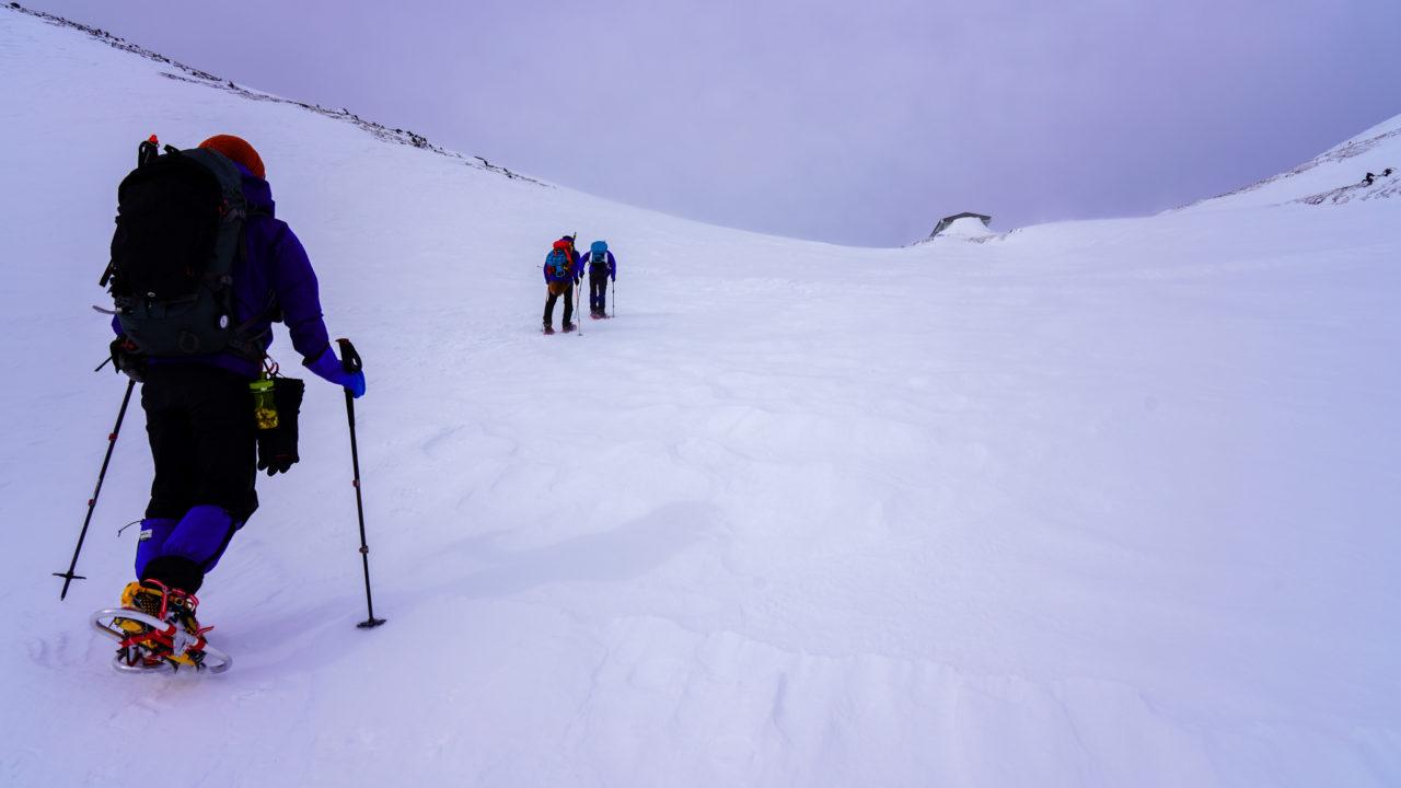 厳冬期・乗鞍岳・乗鞍大雪渓