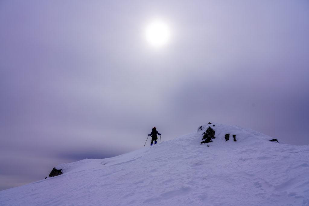 厳冬期・乗鞍岳・ワレ朝日岳登頂ス