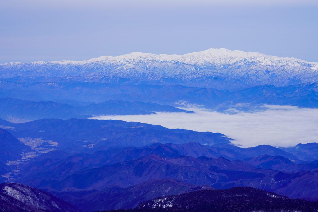 厳冬期・乗鞍岳・白山