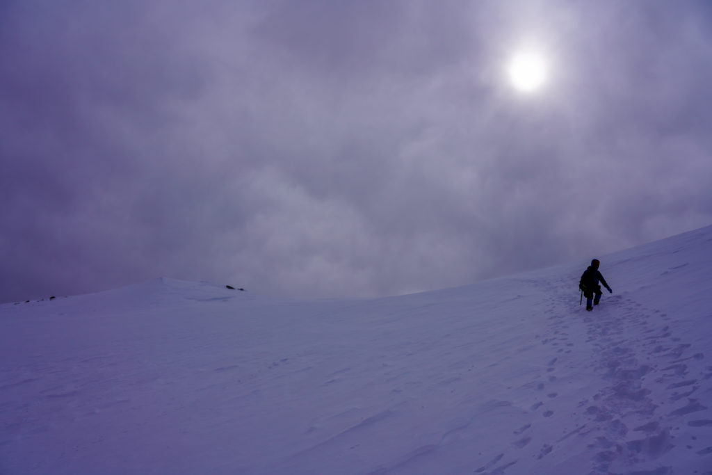 厳冬期・乗鞍岳・位ヶ原へ