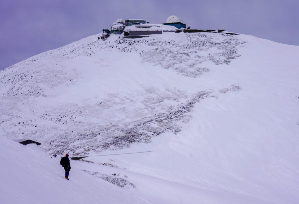 厳冬期・乗鞍岳・摩利支天岳