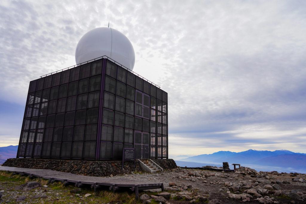 霧ヶ峰・車山気象レーダー観測所
