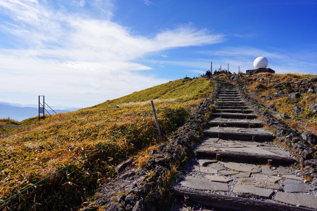 霧ヶ峰・快晴の車山ビクトリーロード