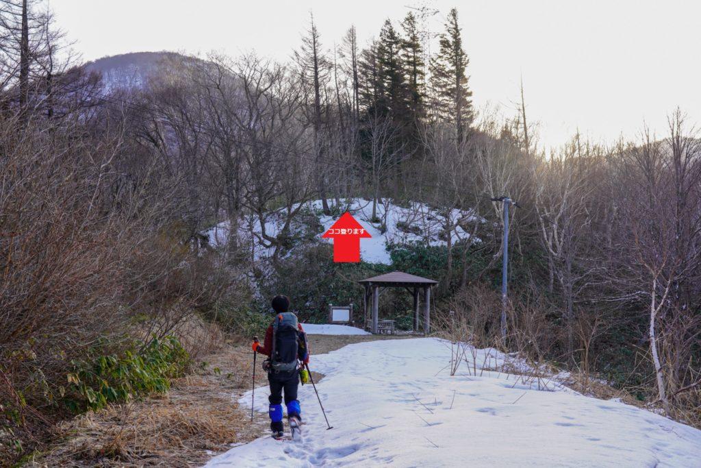 残雪期・東谷山・日白山・二居峠・東屋
