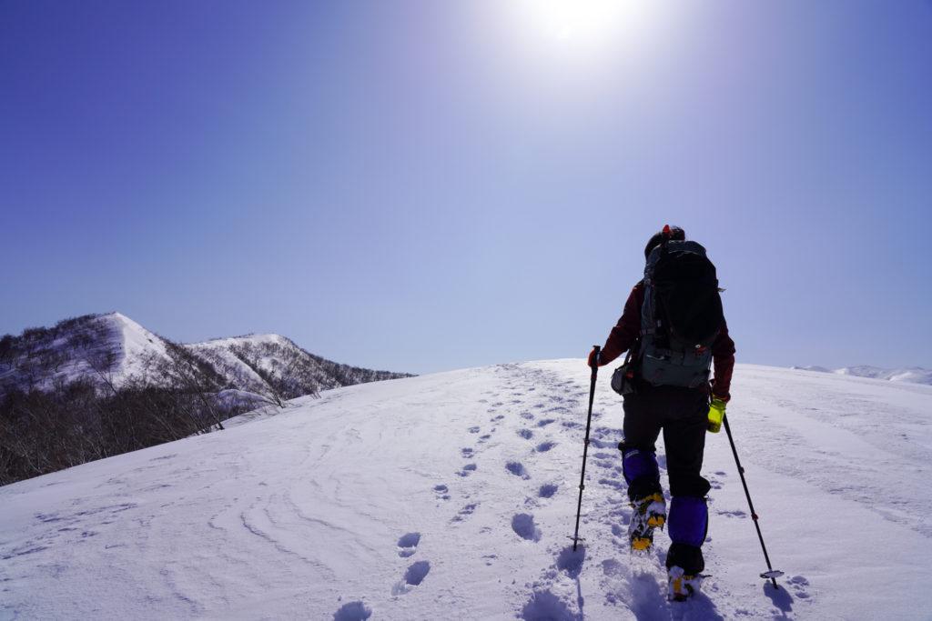 残雪期・東谷山・日白山・ド快晴