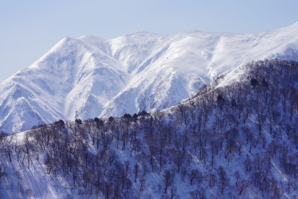 残雪期・東谷山・日白山・迫力の仙ノ倉山