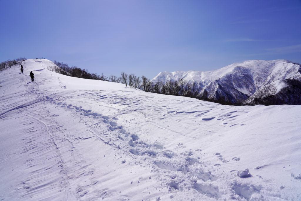 残雪期・東谷山・日白山・日白山ビクトリーロード