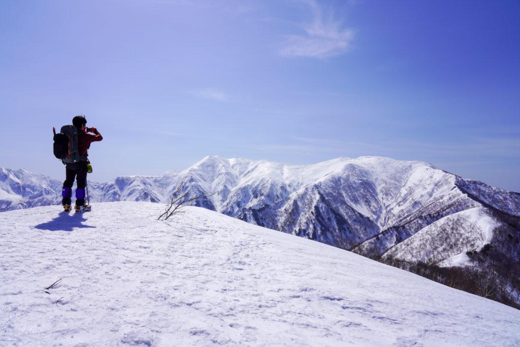 残雪期・東谷山・日白山・日白山山頂