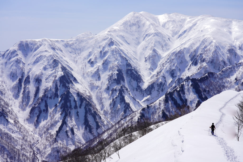 残雪期・東谷山・日白山・大・迫・力!仙ノ倉山