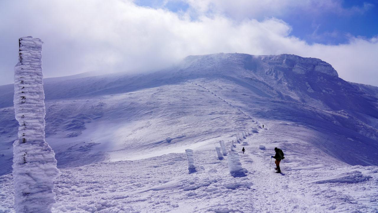 残雪期・蔵王山(熊野岳・刈田岳)・熊野岳
