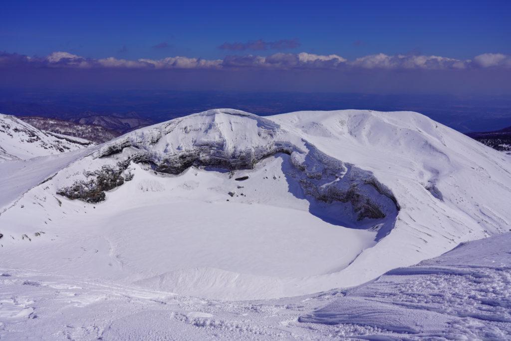 残雪期・蔵王山(熊野岳・刈田岳)・五色岳