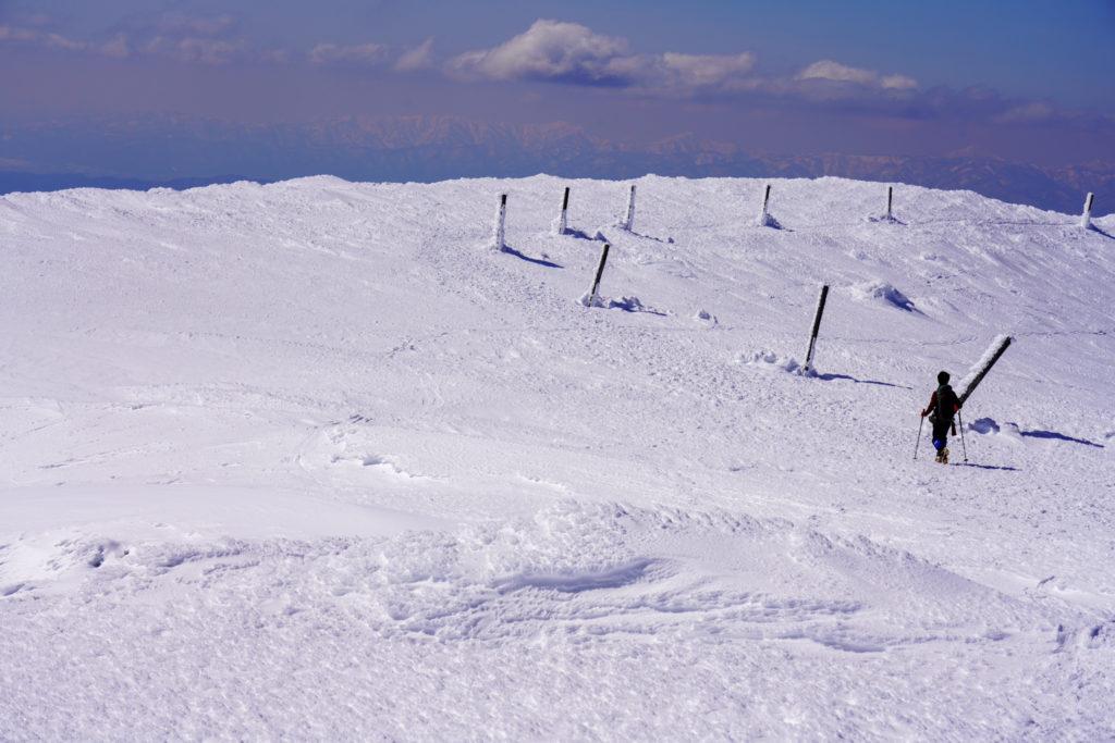 残雪期・蔵王山(熊野岳・刈田岳)・地蔵山へと