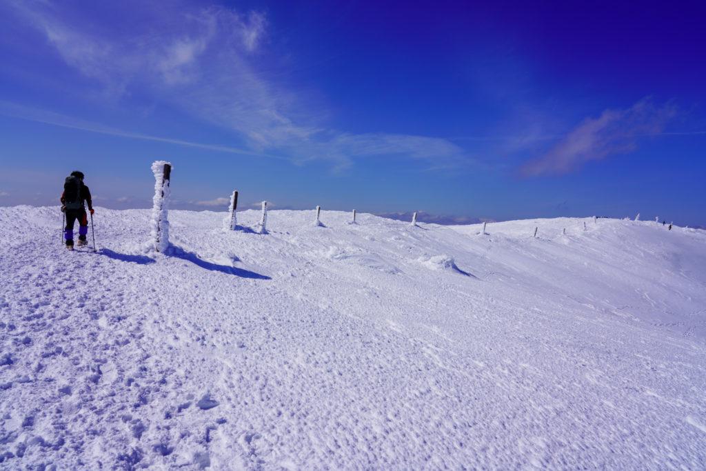 残雪期・蔵王山(熊野岳・刈田岳)・地蔵山へと、その2