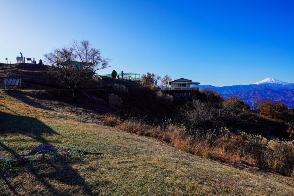 陣馬山・景信山・高尾山・陣馬から見た富士