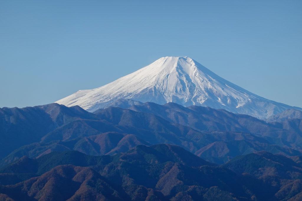 陣馬山・景信山・高尾山・富士山