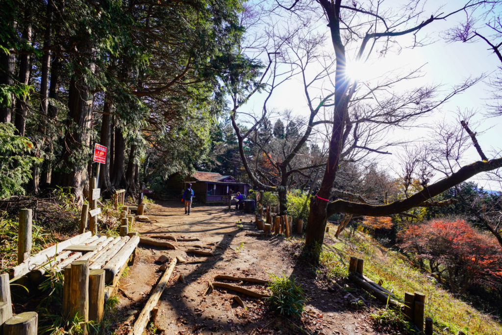 陣馬山・景信山・高尾山・奈良子峠越えての明王峠
