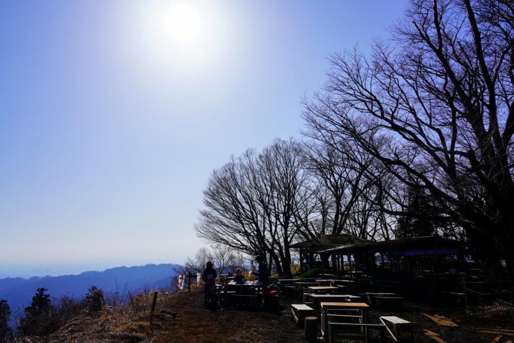 陣馬山・景信山・高尾山・景信山でお昼ご飯