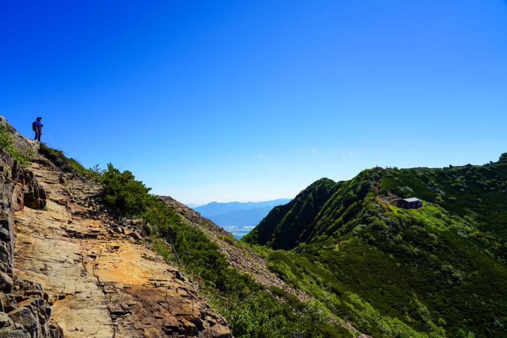 編笠山・権現岳・三ツ頭・東ギボシを登りきる
