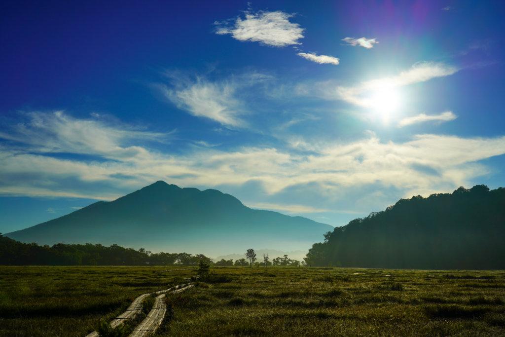 至仏山・尾瀬ヶ原・上田代から見る燧ヶ岳