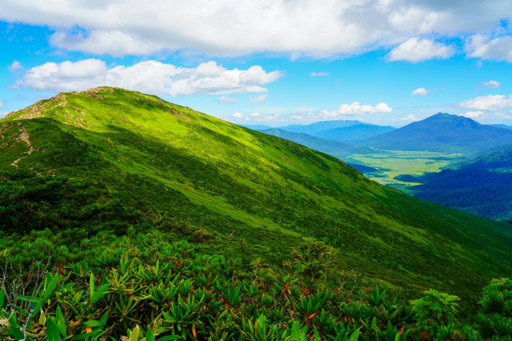 至仏山・尾瀬ヶ原・小至仏山から至仏山、燧ヶ岳、尾瀬ヶ原