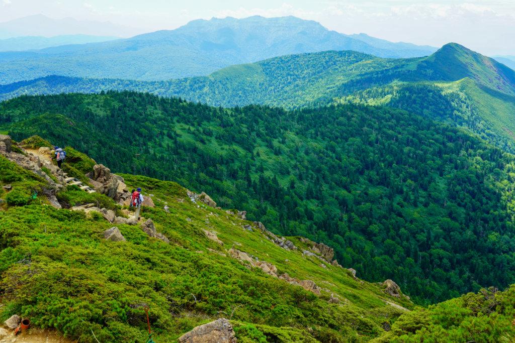 至仏山・尾瀬ヶ原・小至仏山から見た上州武尊山