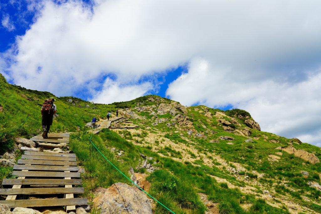 至仏山・尾瀬ヶ原・南側からの至仏山登山道はピストン可能です