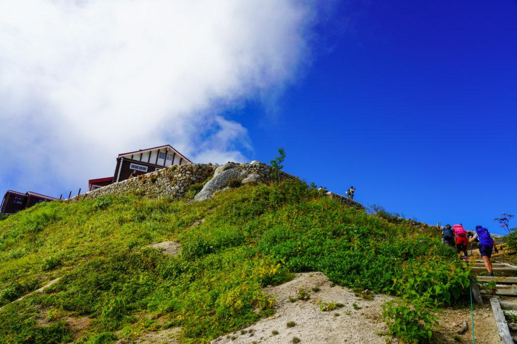 燕岳・燕山荘へ、その2