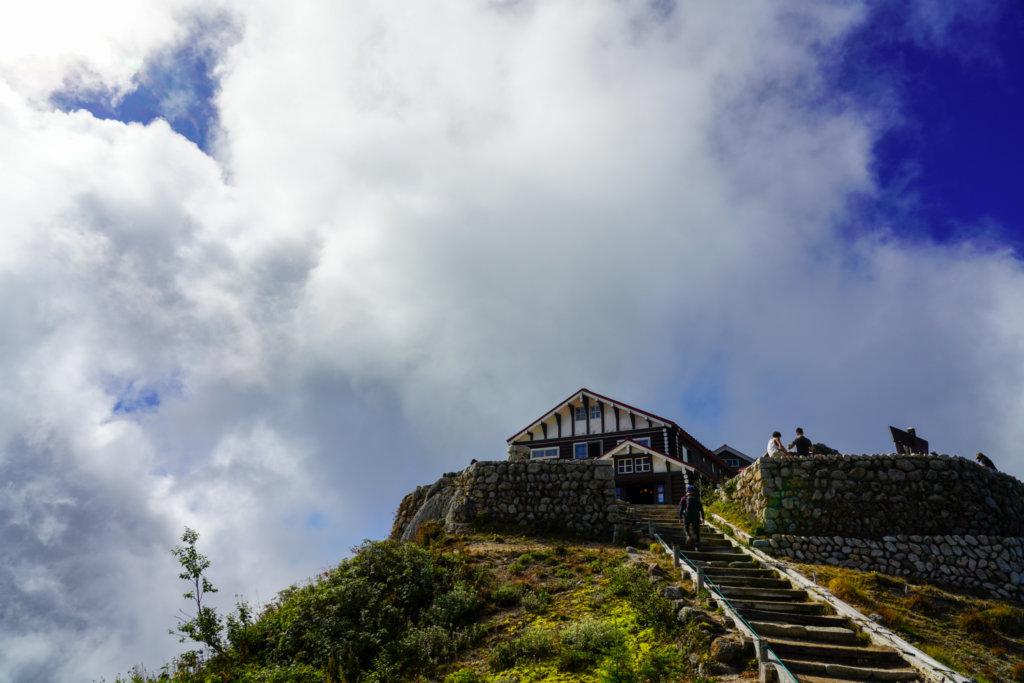 燕岳・燕山荘
