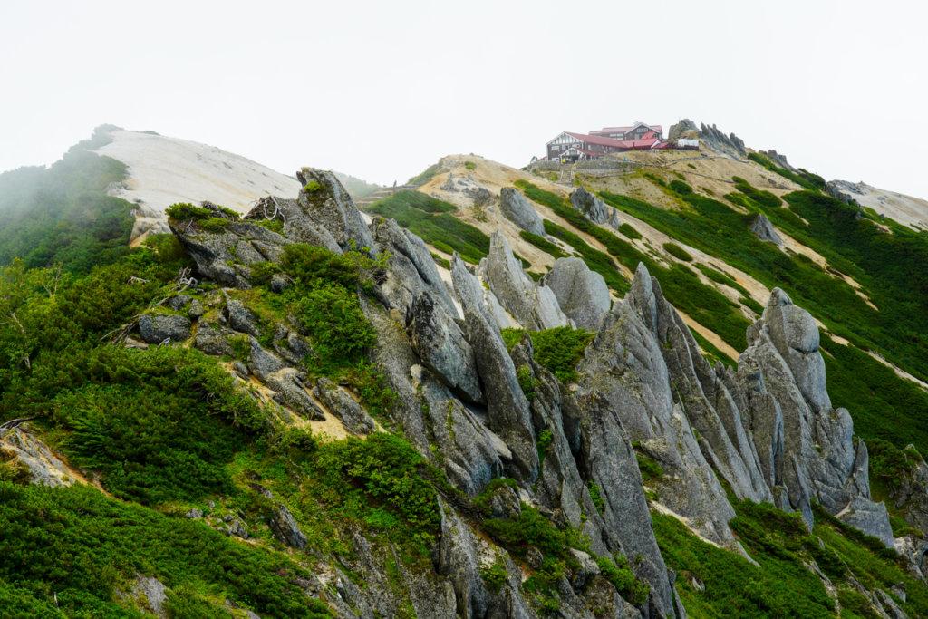 燕岳・燕山荘を振り返る