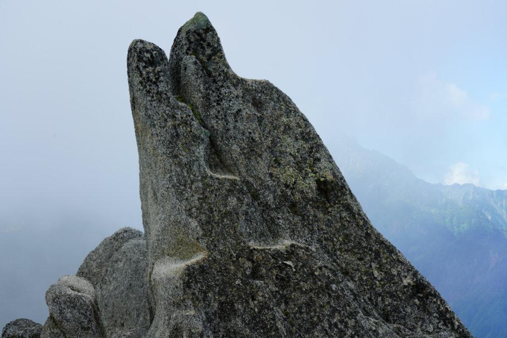 燕岳・イルカ岩、再び