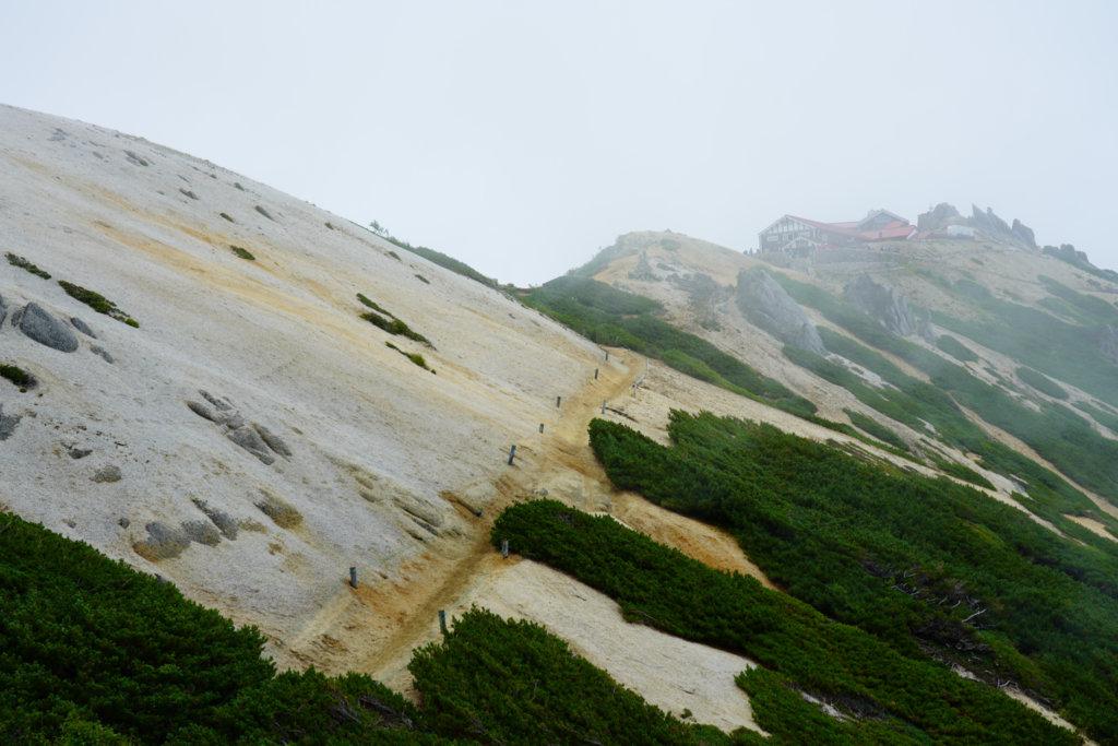 燕岳・燕山荘へ